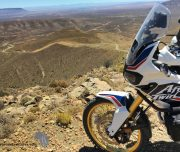 Africa Twin Adventures Ouberg Pass View