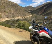 Africa Twin adventures road into The Hell