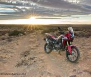 Africa Twin Adventures Elandsberg Red AT Sunset 2