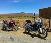 Africa Twin Adventures Ouberg Signpost